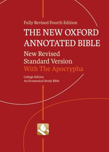 The New Oxford Annotated Bible with Apocrypha: New Revised Standard...