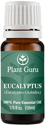 Eucalyptus Essential Oil. 10 ml. 100% Pure, Undiluted, Therapeutic Grade.