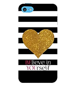 Vizagbeats believe in yourself Back Case Cover for Apple iPhone 6 Plus