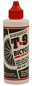 Boeshield T-9 Rust & Corrosion Protection Waterproof Lubrication 4oz (liquid) by Boeshield