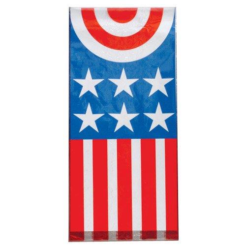~ 12 ~ Patriotic Goody Bags ~5 1/8