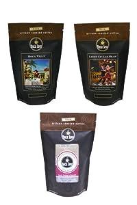Boca Java Roast to Order, Dark Roast Variety Pack, Ground, 8 oz. bags (Pack of 3)