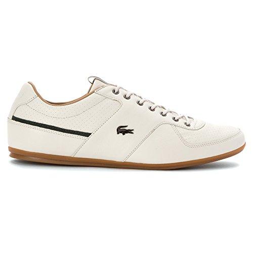 Lacoste Men's Taloire 17 Srm Fashion Sneaker, Size: 10 D(M) US, Color: Off White