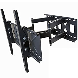 Videosecu Dual Arm TV Wall Mount Bracket for Sony Bravia 32, 37, 40, 42, 46, 50, 52, 55, 58, 60, 62, 63 inch LCD LED Plasma HDTV in refurbished condition CB4 from VideoSecu
