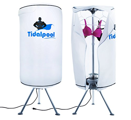 Portable Clothes Dryer ~ Tidalpool portable electric clothes dryer laundry drying