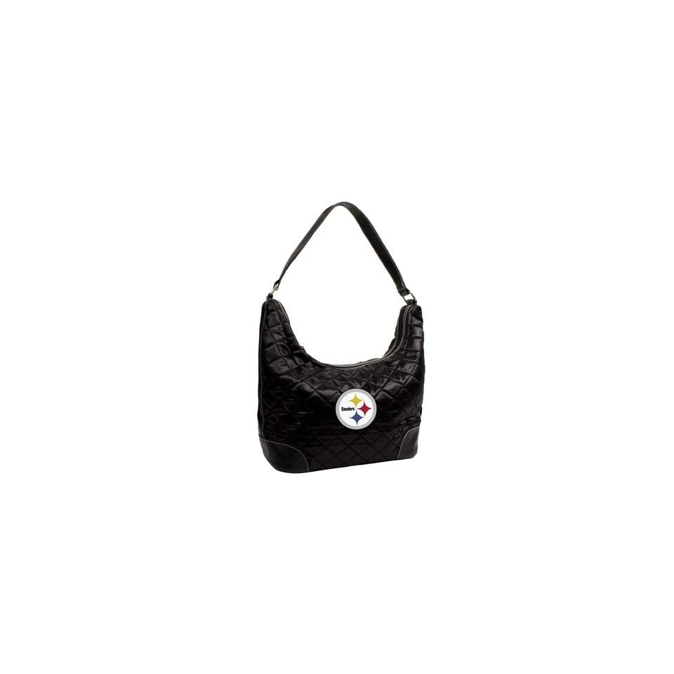 NFL Pittsburgh Steelers Team Color Quilted Hobo Sports