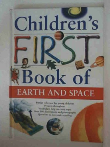 Children's first book of earth and space
