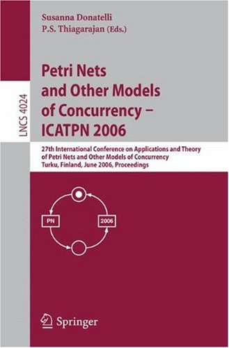 Petri Nets and Other Models of Concurrency - ICATPN 2006, 27 conf