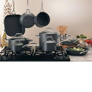 Kirkland Signature Hard Anodized Aluminium Cookware 15 Piece Set