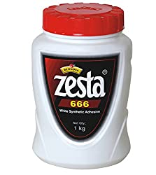 Resinova Zesta 666 Synthetic Adhesive (1KG) Pack of 5