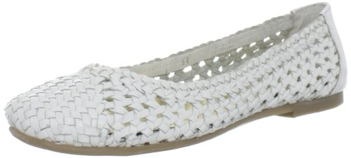 Seychelles Women's Against The Grain Ballet Flat,White,8 M US