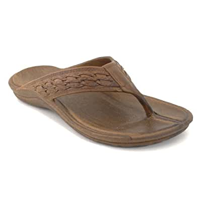 Surfer Brown Pali Hawaii Sandal (9, brown)