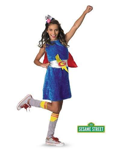 Grover Costume - Teen Large