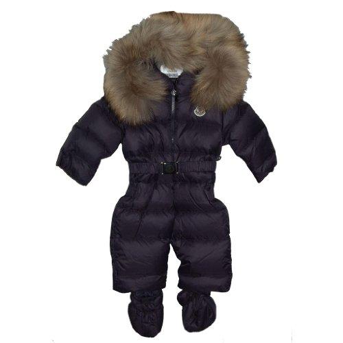 MonclerMoncler Boy's Navy Snowsuit Size 3/6 Months