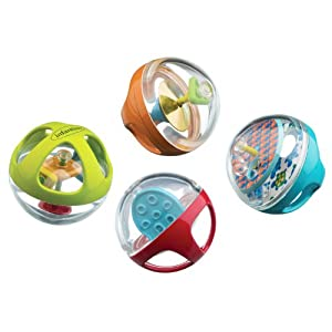 Infantino Peek and Play Activity Balls