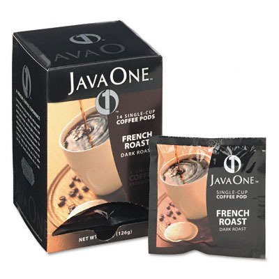 Coffee Pods French Roast Single Cup 14/Box