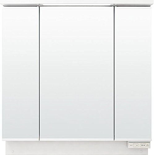 LIXIL(リクシル) INAX 洗面化粧台用 化粧鏡 ピアラ 間口900 三面鏡 LED (くもり止めコート) MAR1-903TXJU