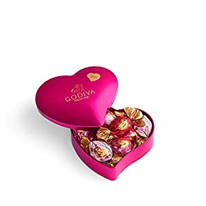 Godiva Chocolatier Valentines Day Keepsake Heart Tin