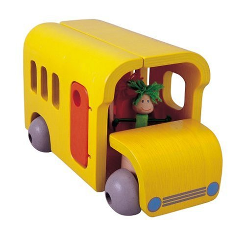 Plan Toys Activity Bus - Buy Plan Toys Activity Bus - Purchase Plan Toys Activity Bus (Plan Toys, Toys & Games,Categories,Play Vehicles,Wood Vehicles)