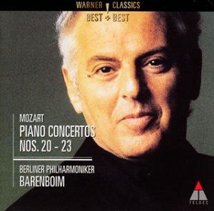 モーツァルト:ピアノ協奏曲第20番~第23番