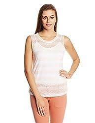 Elle Women's Body Blouse Top (EETS0282_Peach_X-Small)
