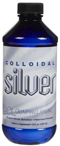 Olympian Labs Colloidal Silver 10 ppm - 8 oz