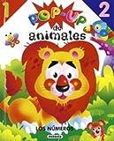 Numeros - Pop Up de Animales (Spanish Edition)