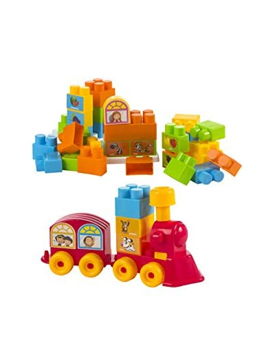 Color Baby Bolsa Blocks Tren Gigantes 47 Pzas