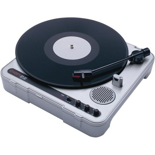 Ion Ipt01 Portable Turntable With Built In Speakers And Amp