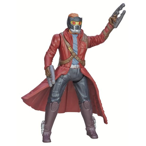 Marvel Guardians of The Galaxy Galactic Battlers Star-Lord Figure - 1