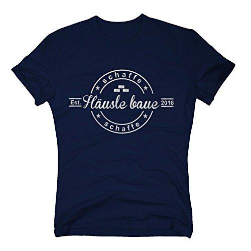 T-Shirt Schaffe Schaffe Häusle Baue thumbnail