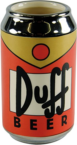 The Simpsons Mug Duff Beer can (Beer Can Coffee Mug compare prices)
