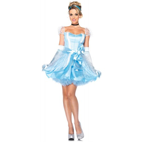 Glass Slipper Cinderella Costume - Large - Dress Size 12-14