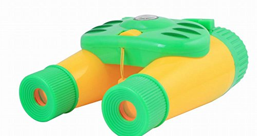 Kids Toy Binocular Kids Telescope Outdoor Science Explore Educational Toy YELLOW