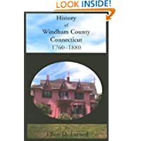 History of Windham County, Conneticut, 1760-1880