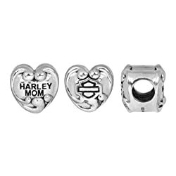Harley-Davidson® MOD® MOM Heart Ride Bead HDD0203