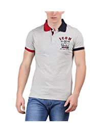 Moonwalker Men's Cotton Polo - B00WN7WAXS