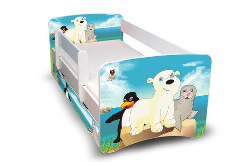 medi shop best for kids lit pour enfant 70x160 avec rambarde de s curit lit junior avec tiroir. Black Bedroom Furniture Sets. Home Design Ideas