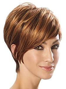 Angled Cut Synthetic Wig by Jessica Simpson Hairdo - R4