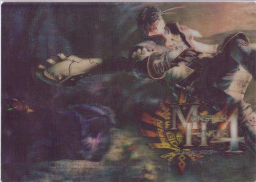 MH4 Monster Hunter 4 3D Desk Pad Capcom
