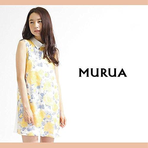 【MURUA(ムルーア)】オパールフラワーBigカラーワンピース1サイズミックス(84)