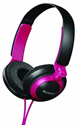 Sony MDR-XB200/P (MDRXB200-Pink) XB Extra Bass Series On-Ear Headphones