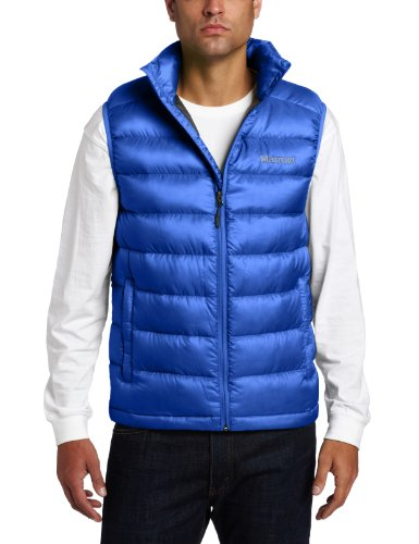 Marmot Men's Zeus Insulated Down Vest - Bright Navy, Medium