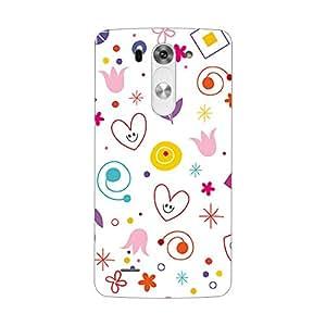 Garmor Designer Plastic Back Cover For LG G3 Beat
