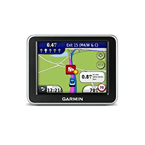 Garmin Nuvi 2200LT GPS system 3.5-inch screen UK/Ireland touchscreen LaneAssist Traffic – NOTE: UK+Ireland maps ONLY on this unit!