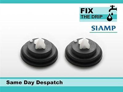2 x SIAMP Diaphragm INLET FLOAT VALVE WASHER 95 95L 99T 99B 99 Duravit Laufen Twyford