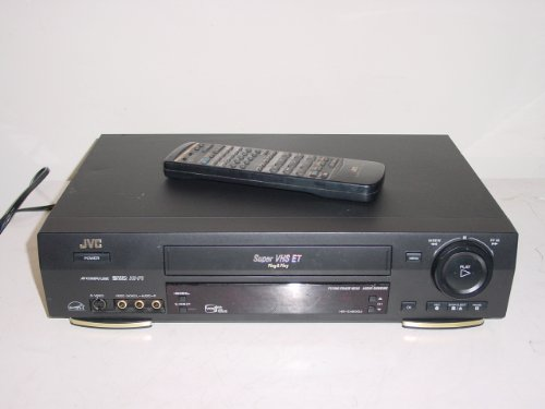 Jvc Hr-S4500U Svhs Super S-Vhs Editing Vcr Hifi-Stereo With Remote