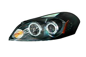 Chevrolet/Chevy Impala/ Monte Carlo 06-08 Projector Head Lamps / Lights Halo Black Clear Amber(Ccfl) Euro Performance