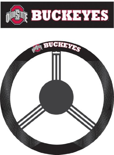 58551 - Ohio State Buckeyes Poly-Suede Steering Wheel Cover at Amazon.com