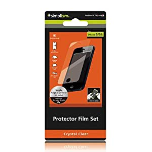 Protector Film Set for iPhone 5/5s & 5c - Crystal Clear
